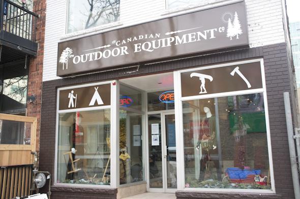 Canadian Outdoor Equipment
