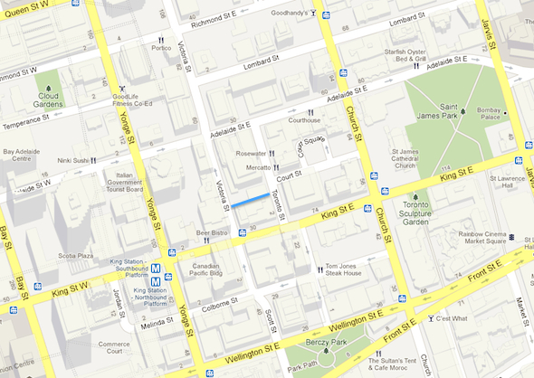 Maps Toronto.Google Slowly But Surely Charts Undiscovered Toronto