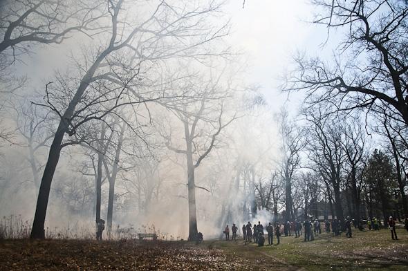 High Park Controlled Burn