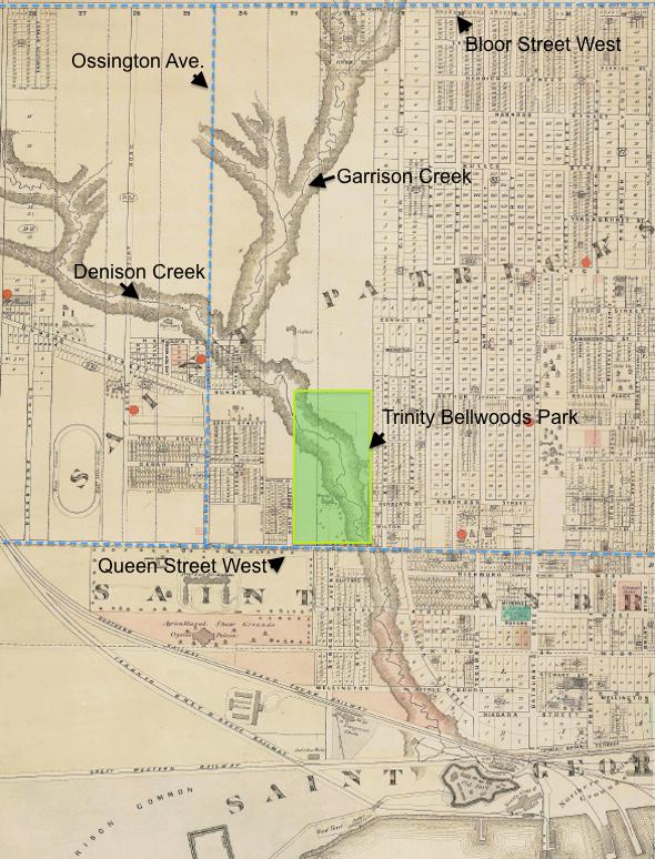 Garrison Creek Map Illustrated
