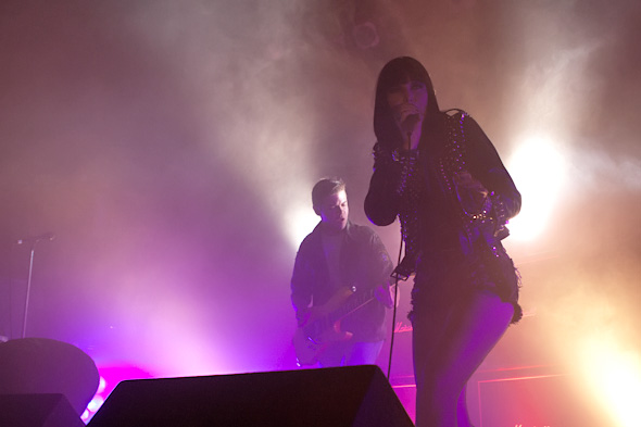 Sleigh Bells Band Live