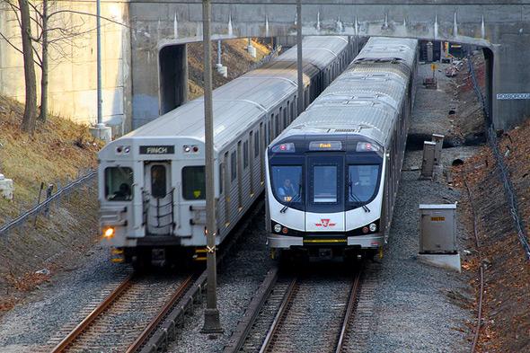 Toronto Rocket Subway