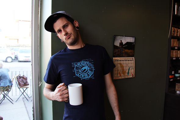 mercury espresso t-shirt