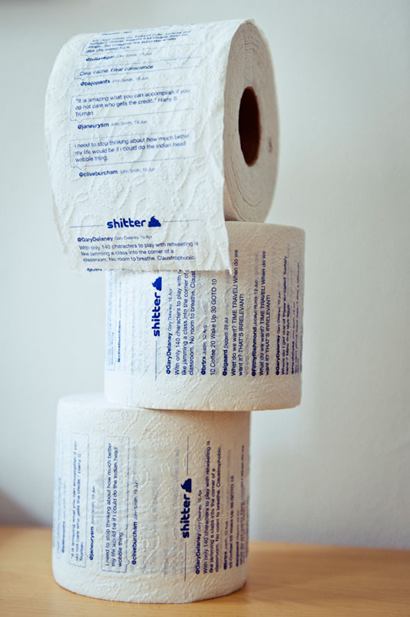 Twitter toilet paper