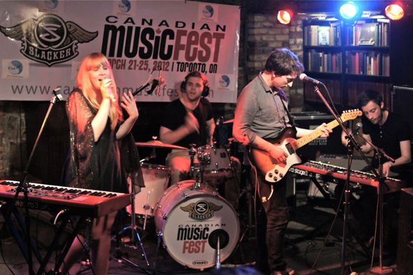 Repartee at C'est What during Canadian Music Week