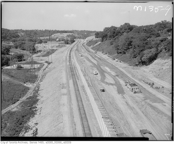 Don Valley DVP Construction