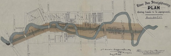 Morning Brew Don River Map