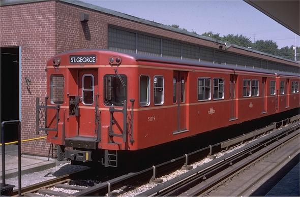 Gloucester Subway in Yard