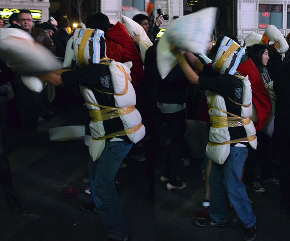 Toronto Pillow Fight