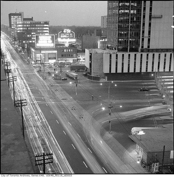 What Yonge And Eglinton Used To Look Like