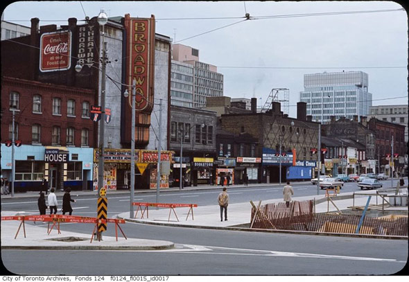 What Queen West Used To Look Like In Toronto