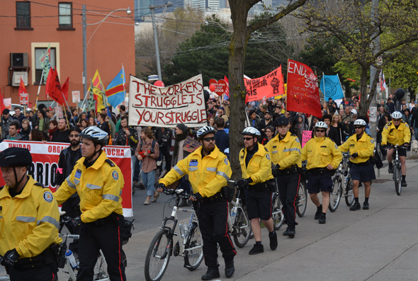 Occupy Toronto May Day