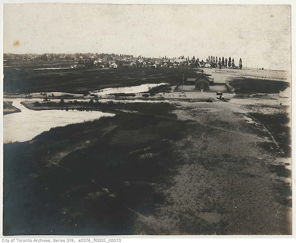 toronto islands lighthouse view 1890s