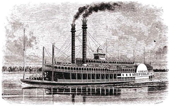 mississippi steamer thornton blackburn