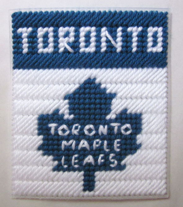 toronto maple leafs stitched tissue box cover