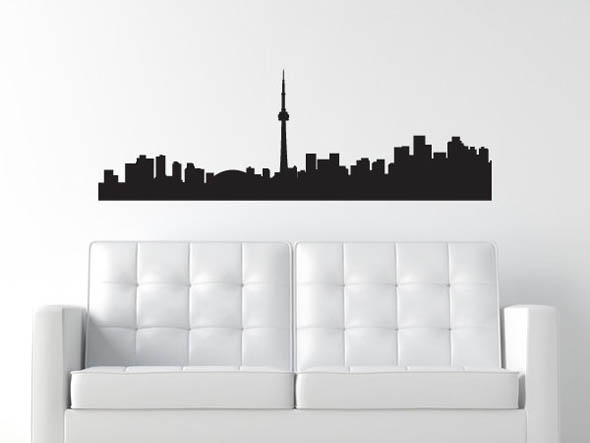 toronto wall decal CN tower