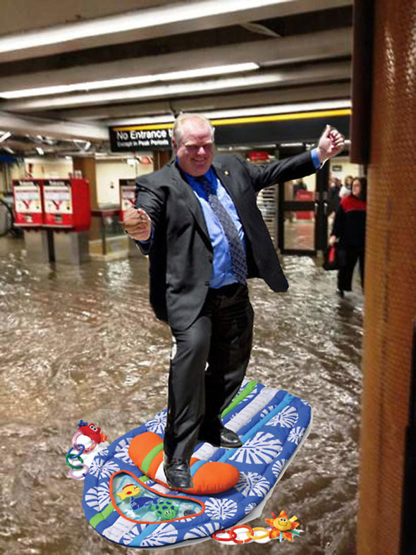 Union Station Flood