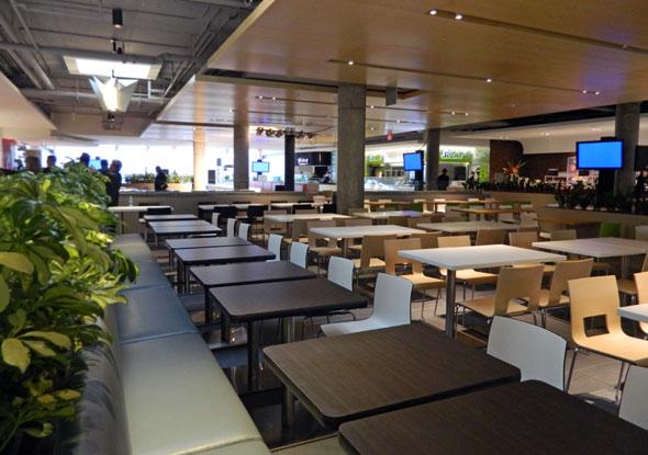 Yorkdale Mall foodcourt