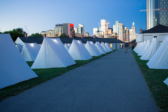 The Encampment Fort York