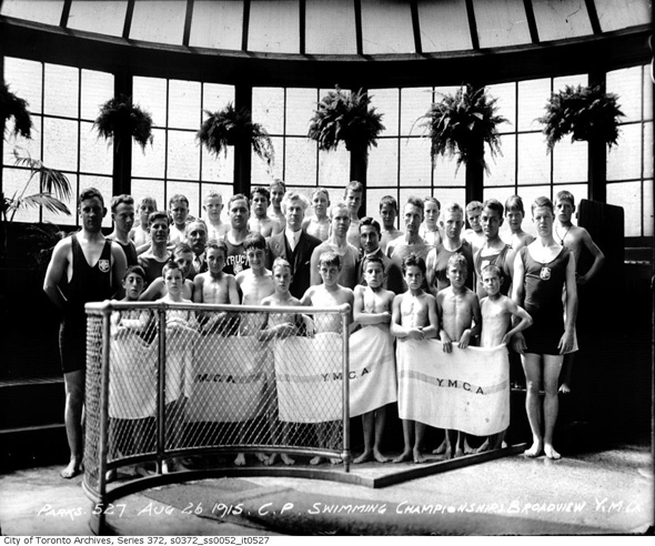 A visual history of swimming in toronto - Bell gardens high school school loop ...
