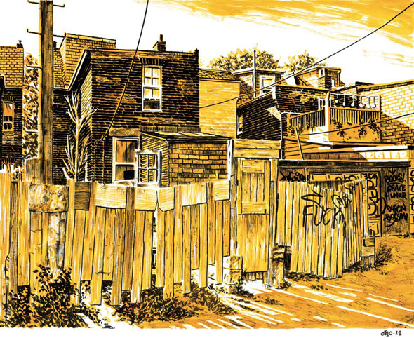 Michael Cho Back Alley
