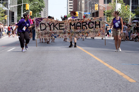 dyke march 2012