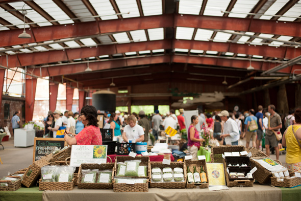 The Farmers Market At The Brick Works
