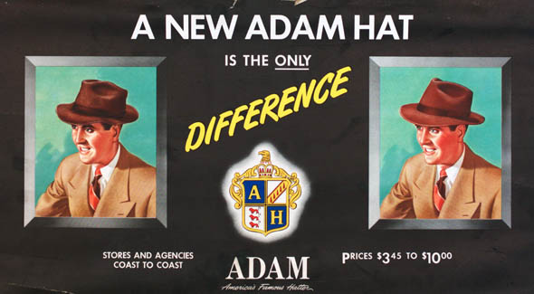 vintage ttc advertisements hat