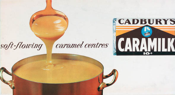 vintage ttc advertisements caramilk