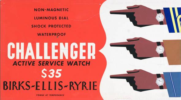 vintage ttc advertisements challenger