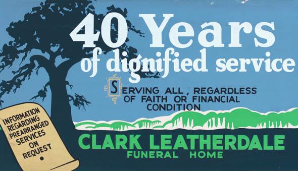 vintage ttc advertisements clark leatherdale