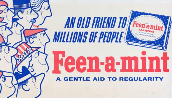 vintage ttc advertisements feen-a-mint