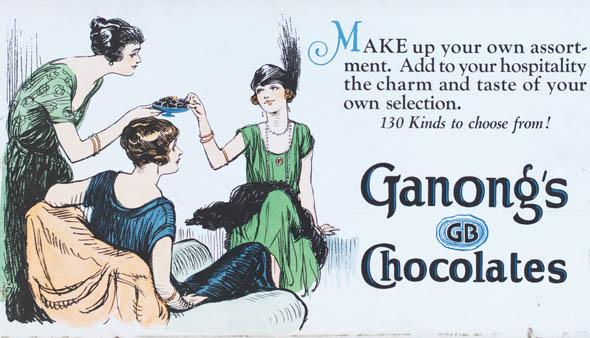 vintage ttc advertisements ganongs