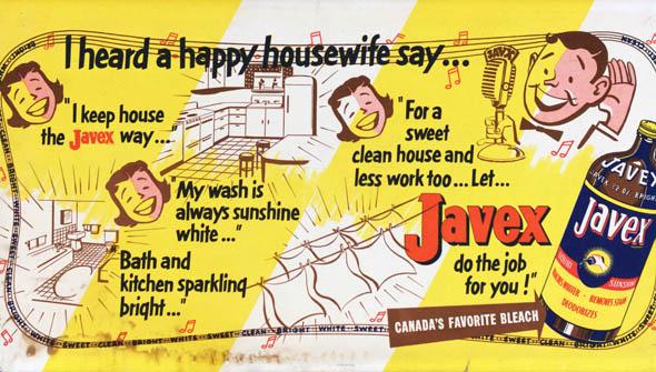 vintage ttc advertisements javex bleach