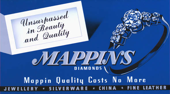 vintage ttc advertisements mappins