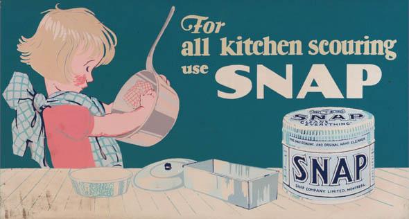 vintage ttc advertisements snap scourer