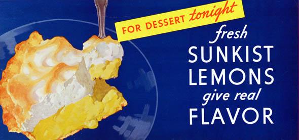 vintage ttc advertisements sunkist lemons