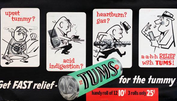 vintage ttc advertisements tums
