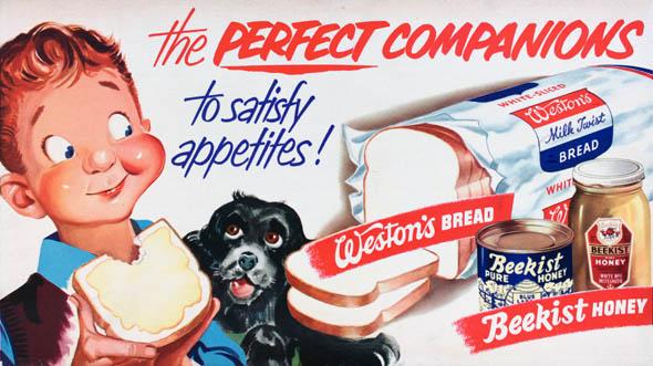 vintage ttc advertisements westons