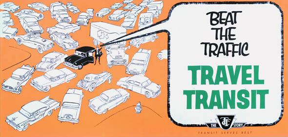 vintage ttc adverts beats traffic