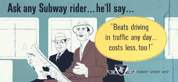 vintage ttc adverts beats driving