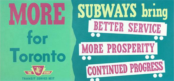 vintage ttc adverts more subways
