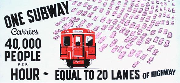 vintage ttc adverts one subway