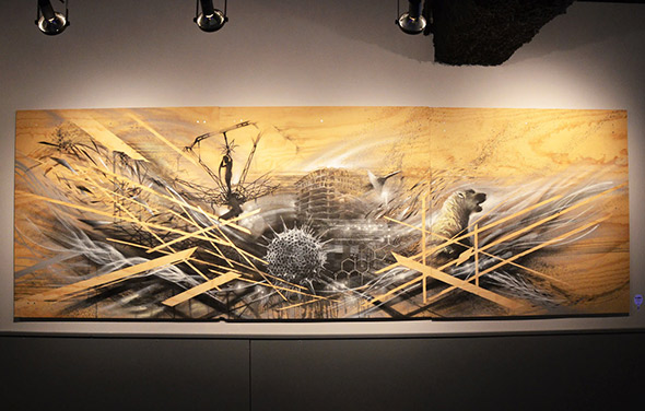 Spin Launches Gallery Series With Plywood Exhibit