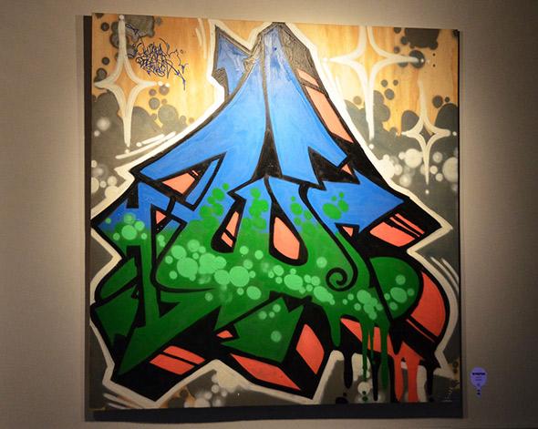 Plywood Graffiti Spin Toronto