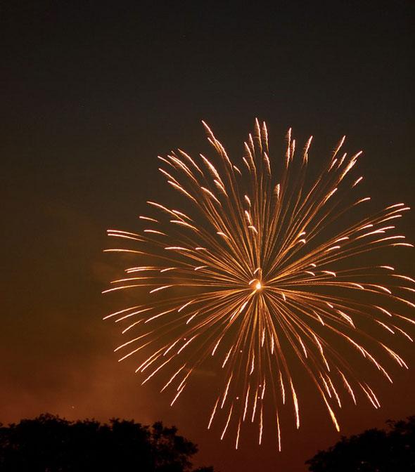 toronto fireworks 2012