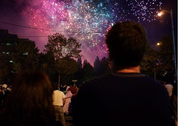 toronto fireworks canada day