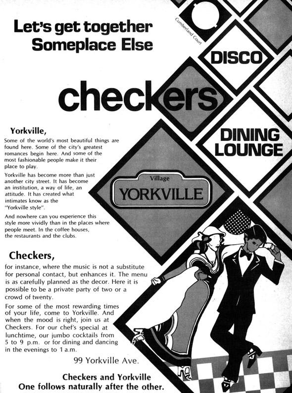 Checkers Disco