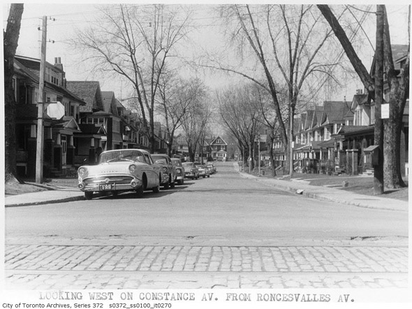Roncesvalles Avenue History