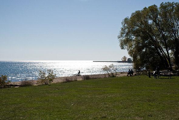 marie curtis park beach toronto